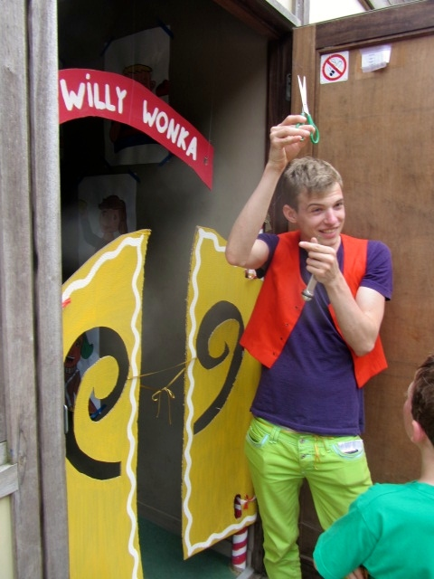 foto van Kamp 2014: Sjakie en de chocoladefabriek