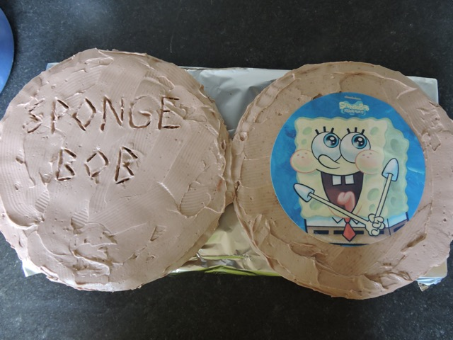 foto van Kamp 2015: Spongebob