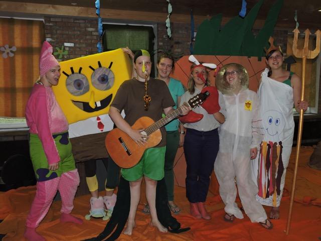 Kamp 2015: Spongebob