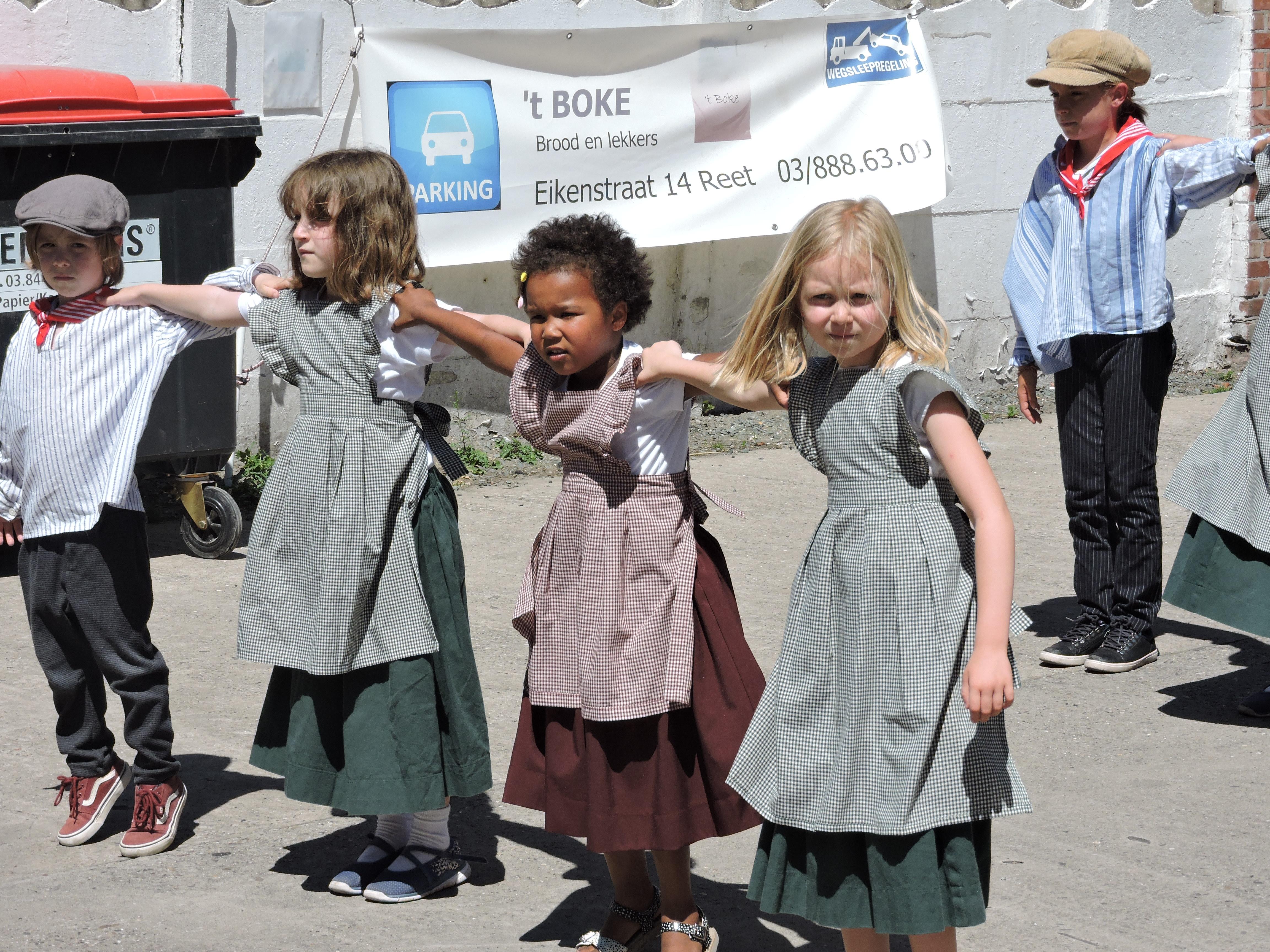 Optreden dorpsfeesten Reet