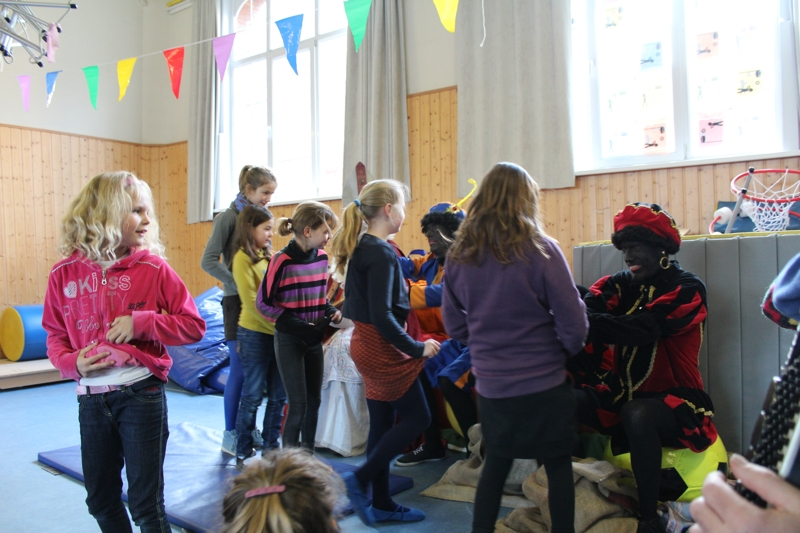 foto van Sinterklaas 2014