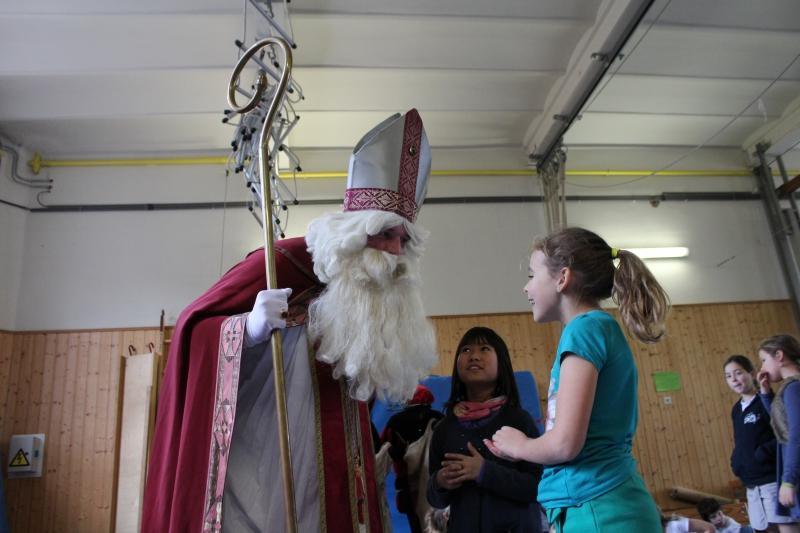 foto van Sinterklaas 2015